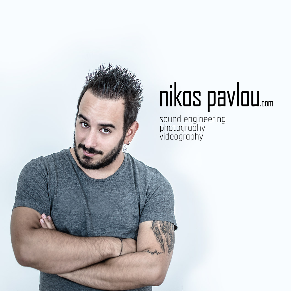 Nikos Pavlou Photography - An experienced freelance sound engineer based in Manchester, who aims to work with artists in the Northwest and all over the rest of the UK.